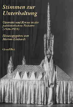 """Marion Linhardt's """"Stimmen der Unterhaltung""""."""