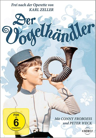 "A post-war film version of the ""Vogelhändler"" starring Conny Froboess."