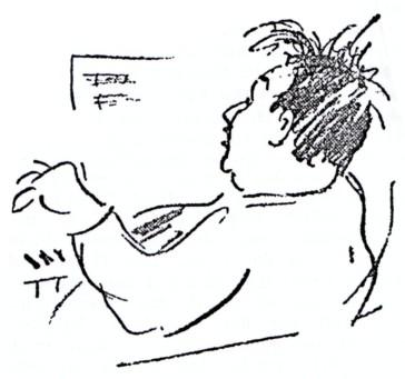 Korngold at the piano, 1929.