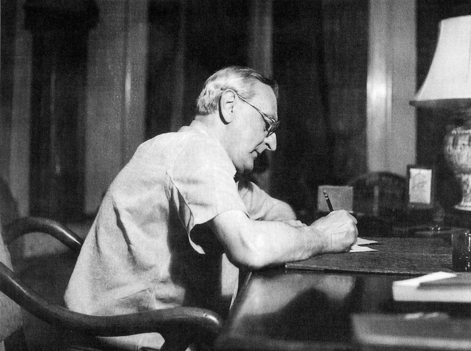 Composer Ralph Benatzky in New York.