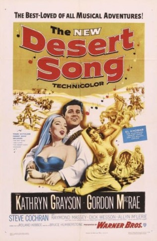 Another poster for the 1956 film version.