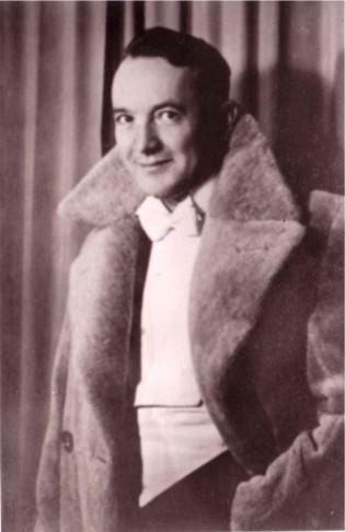 Rudolf Kattnigg, as a youbg and rising composer.