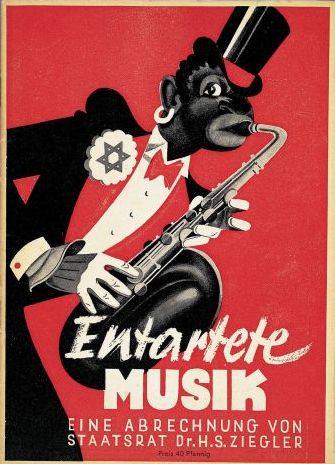 "Cover for the catalogue ""Entartete Musik""."
