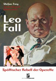 Cover of Stefan Frey's Leo Fall biography.