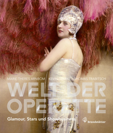 "The cover of the Theatermuseum Wien catalogue ""Welt der Operette""."