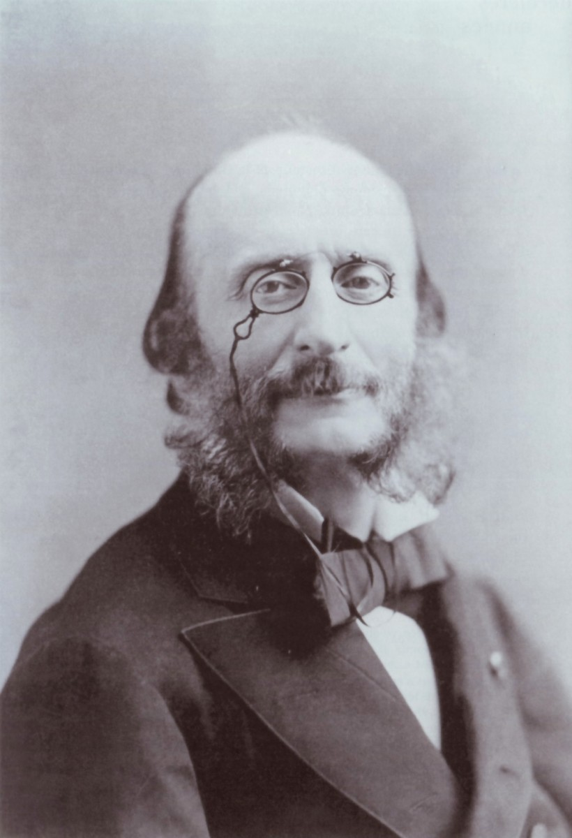 Composer Jacques Offenbach in 1876.