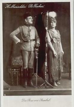 """Hubert Marischka in """"Die Rose von Stambul""""."""