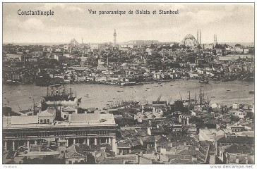 Constantinople in the late 19th century.