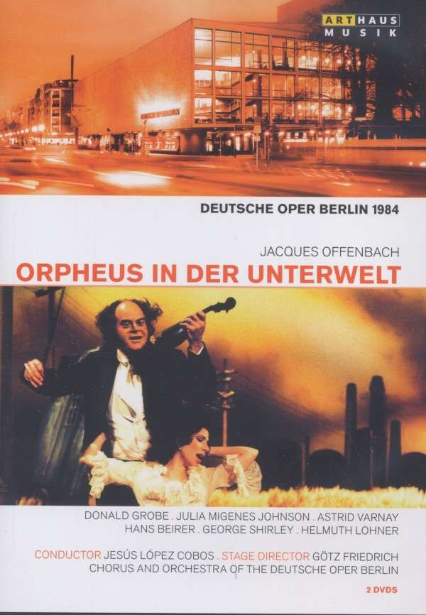 "The DVD cover of Götz Friedrich's ""Orpheus"" production."