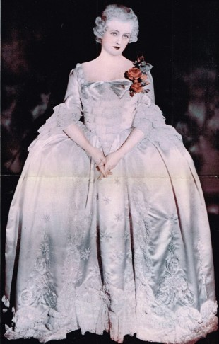 Miss Evelyn Lay as Madame Pompadour.
