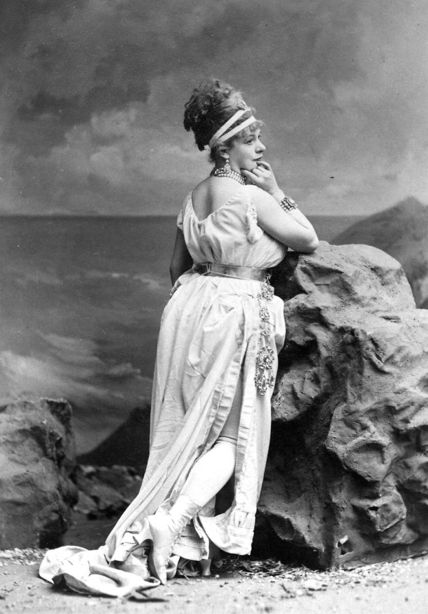 Emily Soldene as Offenbach's Helena.