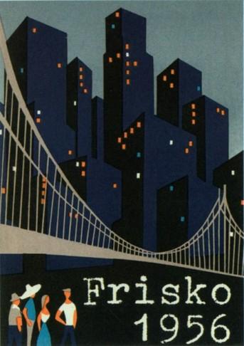 "Poster design for ""In Frisco ist der Teufel los."""
