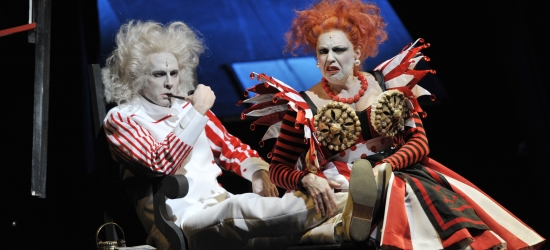 "A scene from ""Sweeny Todd"" in Magdeburg."