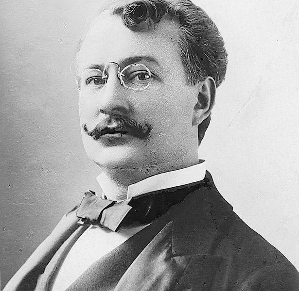 German-born Broadway composer Gustave Kerker.