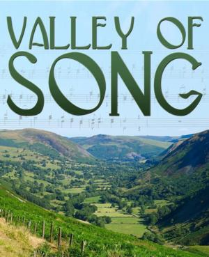 """Cover for the new release of Ivor Novello's """"Valley of Songs."""""""