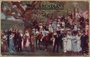 Postcard advertising the original production.