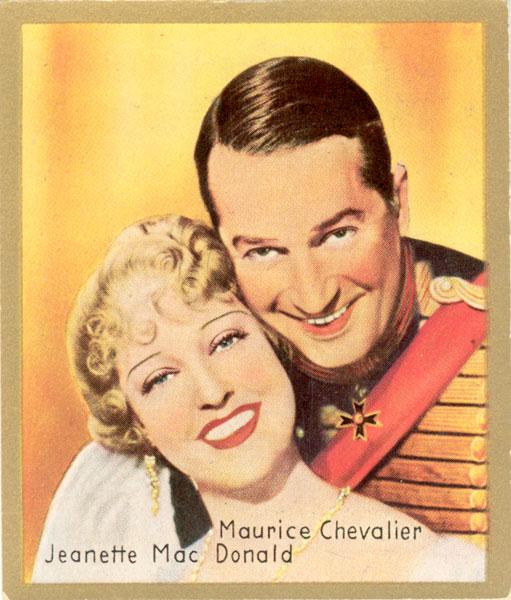 """The Ernst Lubitsch film version of the """"Merry Widow""""."""