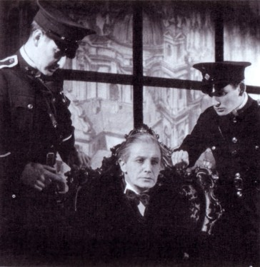 Novello as Rudi Kleber, being arrested by the Nazis.