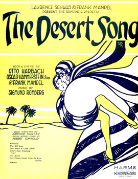 Original sheet music cover from 1926.