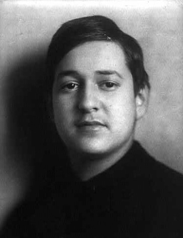 Erich Wolfgang Korngold, as a young man.