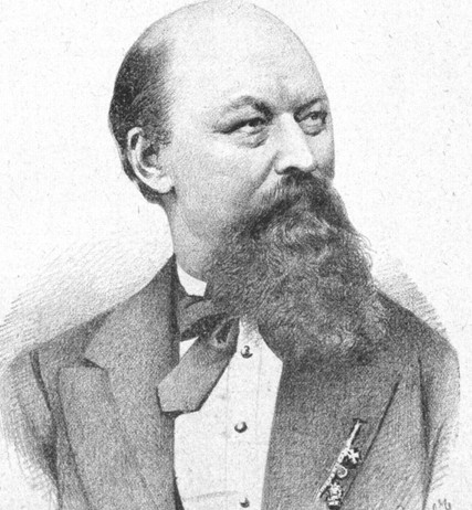 Franz von Suppé, in 1885.