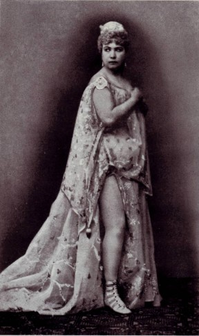 Marie Geistinger as Offenbach's Helena, one of her greatest theatrical triumphs.