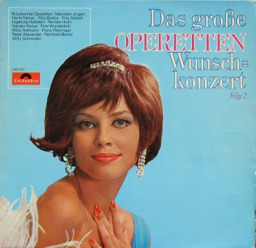 A typical operetta LP from the 1970s.