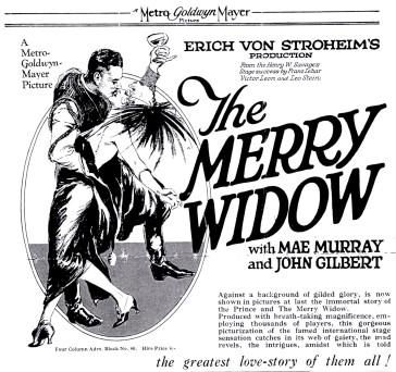 The immensley successful silent movie version from 1925, directed by Erich von Stroheim.