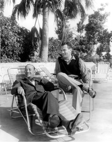 Coward with his life-partner Graham Payn.