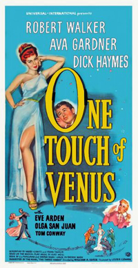 The poster for the 1948 movie version starring Ava Gardner