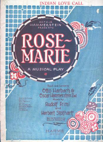 Cover of the original piano score.