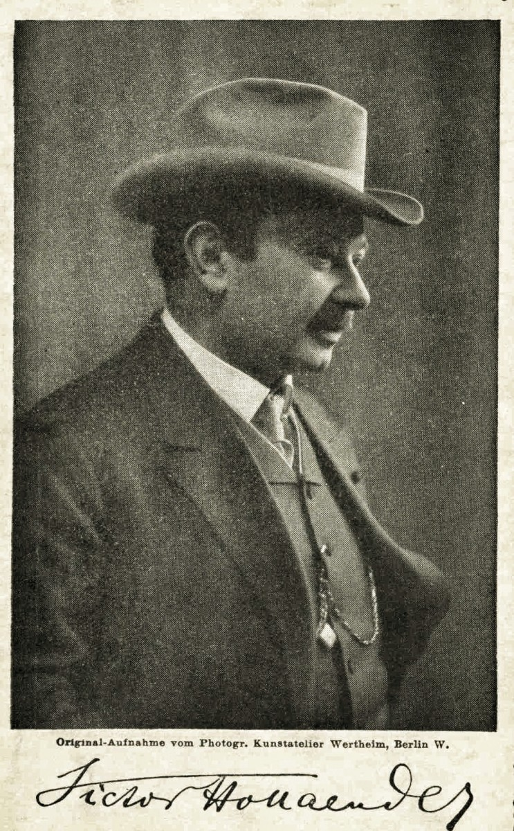 Composer Victor Hollaender.