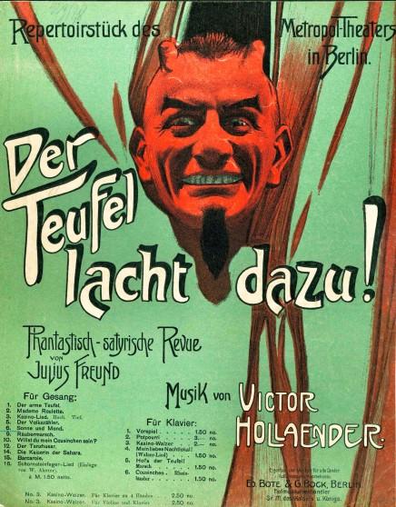 Victor Hollaender: The Musical Voice of Wilhelmine Berlin