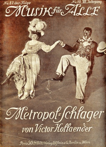 The look of Berlin revues at the Metropol Theater, pre 1914.
