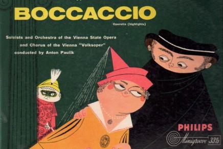 BOCCACCIO Operette in 3 acts