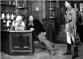 "Scene from ""Miss Hook of Holland""."