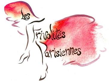 """The logo of """"Frivolités Parisiennes""""."""