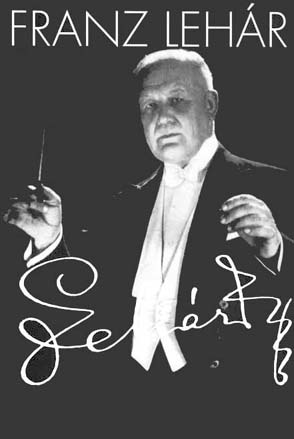 Franz Lehár as an old man, conducting his own music.