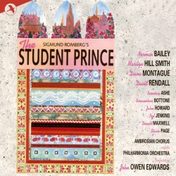 "The JAY Records version of Romberg's ""THe Student Prince""."