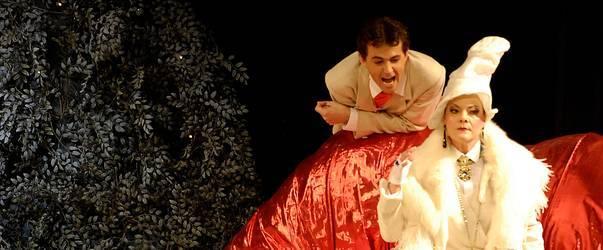 """A scene from the Leipzig production of """"Mein Freund Bunbury"""". (Photo: Musikalische Komödie)"""