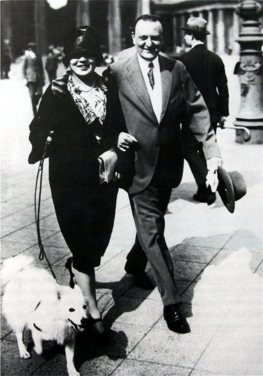 Benatzky and his first wife Josma Selim in Berlin, in the 1920s. (Photo: Archive of the Operetta Research Center.)