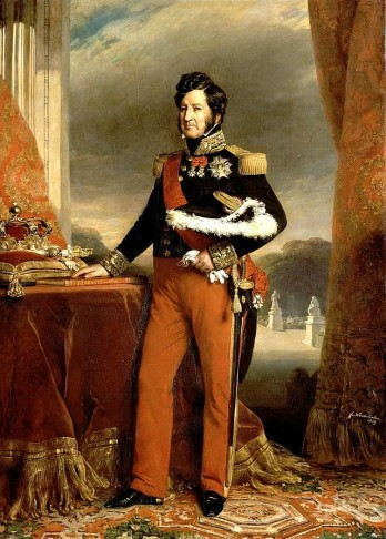 Franz Xaver Winterhalter portrait of King Louis Philippe.
