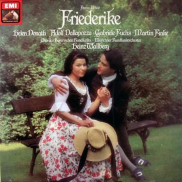 "The 1970s recording of ""Friederike"" with Helen Donath."