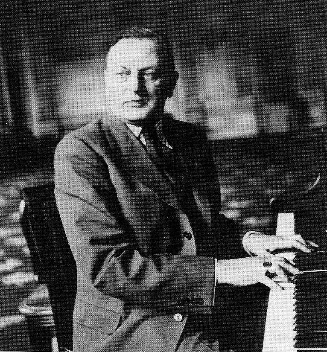 Composer Ralph Benatzky in the 1930s. (Photo: Operetta Research Center)