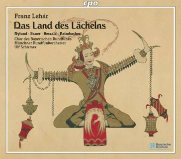 "The cpo version of ""Land des Lächelns."""