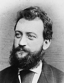 Composer Carl Millöcker.