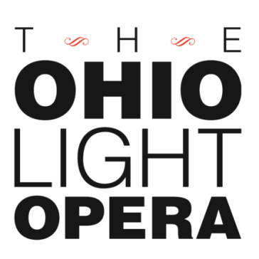 The logo of the Ohio Light Opera (OLO).