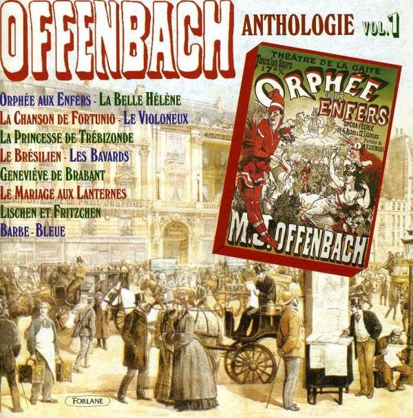 Volume 1 of the Offenbach anthology.