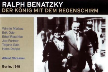 """""""Der König mit dem Regenschirm"""" mit Erik Ode: RIAS 1948"""