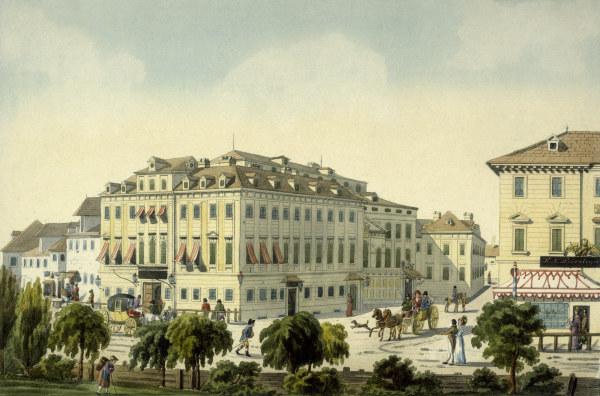 The historic Theater an der Wien.